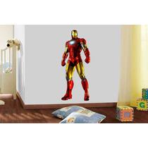 Adesivo De Parede Quarto Super Herói Homem De Ferro