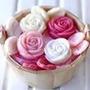 Cesta De Rosas Perfumadas - Sabonetes Lembrancas