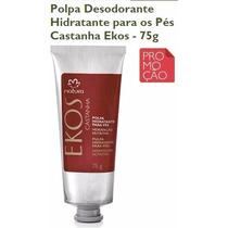 Natura Ekos/ Castanha: Polpa Hidratante P/ Pés - 75g [novo]