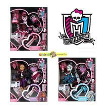 Monster High Draculaura, Frankie E Clawdeen 1600 Anos - 2011
