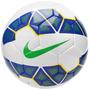 Bola Futebol Nike Society Tam 5 Sc2599-143 - Branco/azul/ver