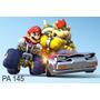 Painel Para Festas. Lona Banner Super Mario