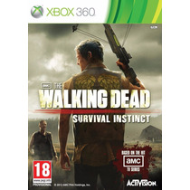 Jogo The Walking Dead Survival Instinct Para Xbox 360 !!!