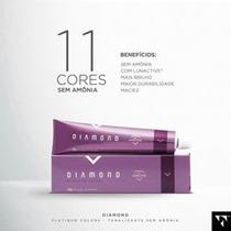 Tonalizante Diamond Platinum -coloração Sem Amônia, Felithi