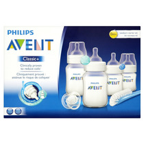 Mamadeiras Philips Avent Classic Plus - Kit Iniciante