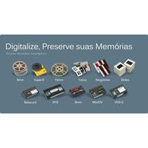 Conversão Digitalização De Vhs/vhsc/minidv/8mm/super 8/hi8
