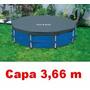 Capa Para Piscina Estrutural 3,66m Armação Intex 6503l