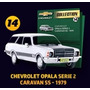 Chevrolet Collection Vol.14 Caravan Ss (1979)+box+livreto