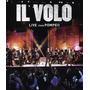 Dvd Il Volo Live From Pompeii {import} Novo Lacrado