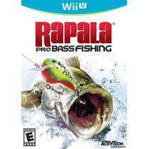 Rapala Pro Bass Fishing Wii U Novo E Lacrado No Box