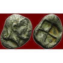 Ionia, Kolophon. Hemiobol Moeda Antiga Grega Grécia