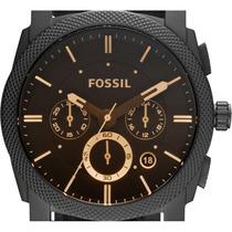 Relógio Fossil Original Pulseira Couro Completo Es4656