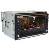 Central Multi Midia Tv Cd Dvd Gps Usb Am Fm Mp3/4 Bluetooth