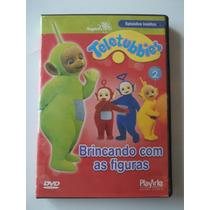 Teletubbies - Dvd - Brincando Com As Figuras - Raro!!!!