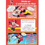 50 Convite Gibi Aniversário Minnie Rosa E Vermelha 48hrs