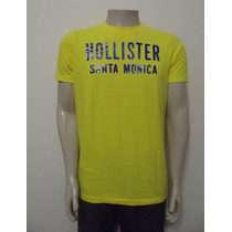 Camiseta Hollister Co. Nova E Original No Brasil