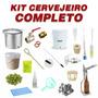 Kit Cervejeiro Para Produção De Cerveja Artesanal C/ Insumos