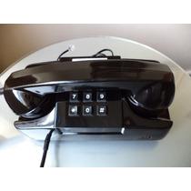 Telefone Gte Preto Para Linhas Analógicas E Digitais