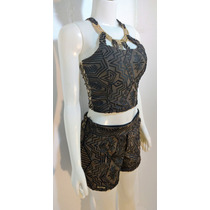 Conjunto Short E Blusa Cropped Modelos Exclusivos