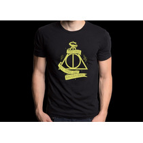Camiseta Harry Potter Camisa Modelo Novo