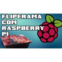 Fliperama Portatil C/ Raspberry Pi / Retropie , Arcade