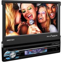 Dvd Automotivo Multimídia Phaser Ard7201 7 Usb/sd Com Co...