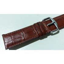 Pulseira Croco Relógios - 22mm Tommy Tissot Seiko Armani