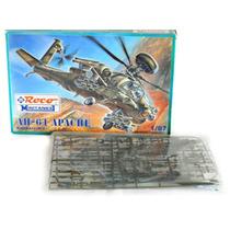 Raro Helicóptero Militar Ah-64 Apache Ho 1:87 Roco