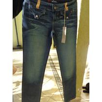 Calça Jeans Feminina, Calça Jeans Com Detalhes.