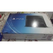 Playstation 4 Ps4 500 Gb Bivolt + Controle+ 10 Jogo