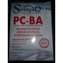 Material Pc-ba Delegado De Policia 2013