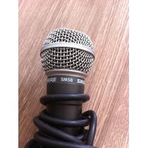 Microfone Shure Original Usado Com Fio