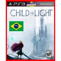 Child Of Light Ps3 Código Psn Aventura Dublado