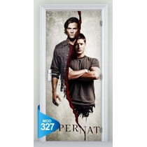 Adesivo 123 Porta Seri Tv Supernatural Dean Sam Winchester