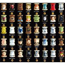 Coleção Completa Star Wars Abatons Dourados+coloridos+transp