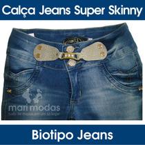 Calça Jeans Feminina Super Skinny - Biotipo Jeans