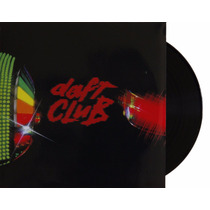Lp Vinil Daft Punk Daft Club Novo Importado