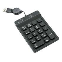 Teclado Multilaser Tc096 Numérico Usb Para Notebook Preto