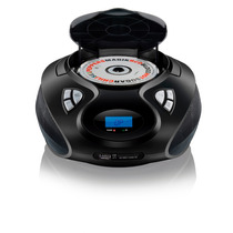 Rádio Boombox Cd/usb/sd/fm/aux 20w Rms Sp178 Pto Multilaser