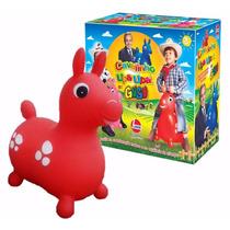 Brinquedo Infantil Cavalinho Upa Upa Do Gugu Vermelho- Líder