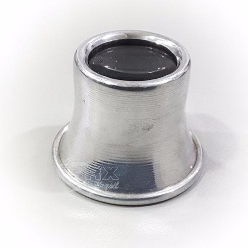 fc1095885d2 Lupa Relojoeiro Alumínio 23lra - Aumento De 2