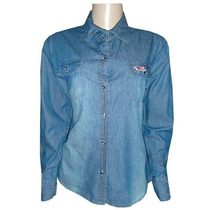 Camisa Social Hollister - Jeans (feminina)