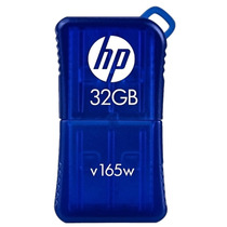 Pen Drive Hp V165w - 32gb - Usb2.0 - Azul