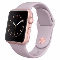Relógio Apple Watch Alum 38mm Stone Sport Ouro Rosa Original