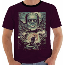 Camiseta Ou Baby Look Frankenstein Mary Shelley Color