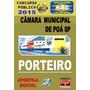 Apostila Concurso Camara Municipal Poa Sp Porteiro 2015