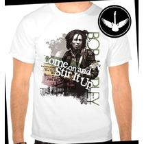 Camiseta Bob Marley Baby Look Regata Reggae Camisa Blusa