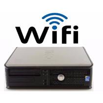 Pc Cpu Dell Optiplex 780 Core 2 Duo 4gb Ddr3 Hd 500gb + Wifi