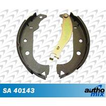 Sapata Lona Freio Fiat Siena 1.8 8v Autho Mix Sa40143