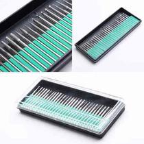 Kit 30 Brocas Lixa Unha Eletrica Profissional Manicure Bits